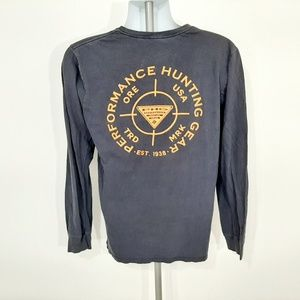 Columbia PHG Men's Long Sleeve T-shirt Size M Blue